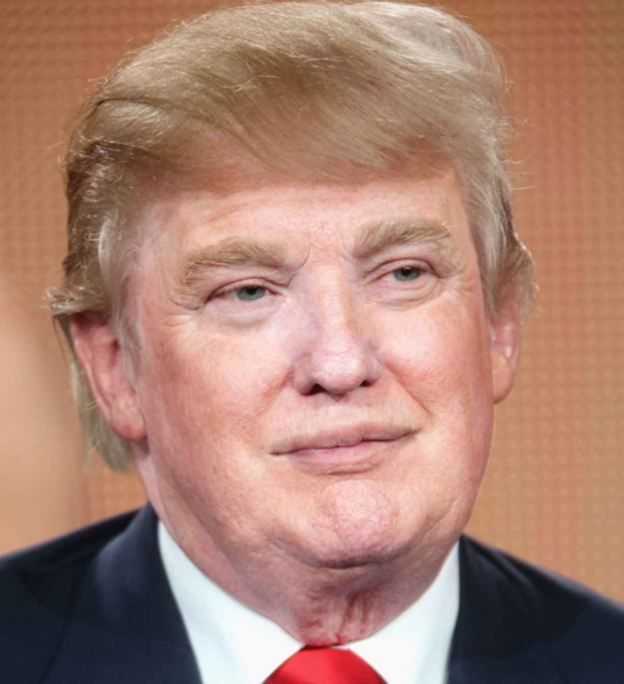 PIC: This image of Donald Trump without his fake tan is disturbing the ...