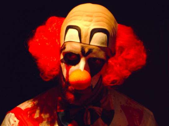 Rise of the killer clowns: Police warning after prankster chases children
