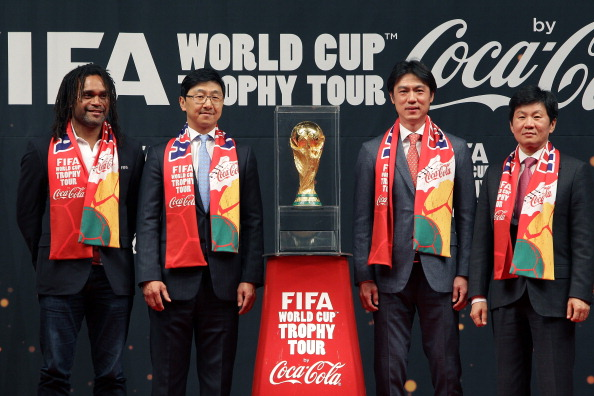 FIFA Brazil World Cup Trophy Tour In Seoul