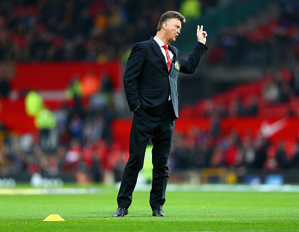 One Direction Are In Louis Van Gaal's Bad Books