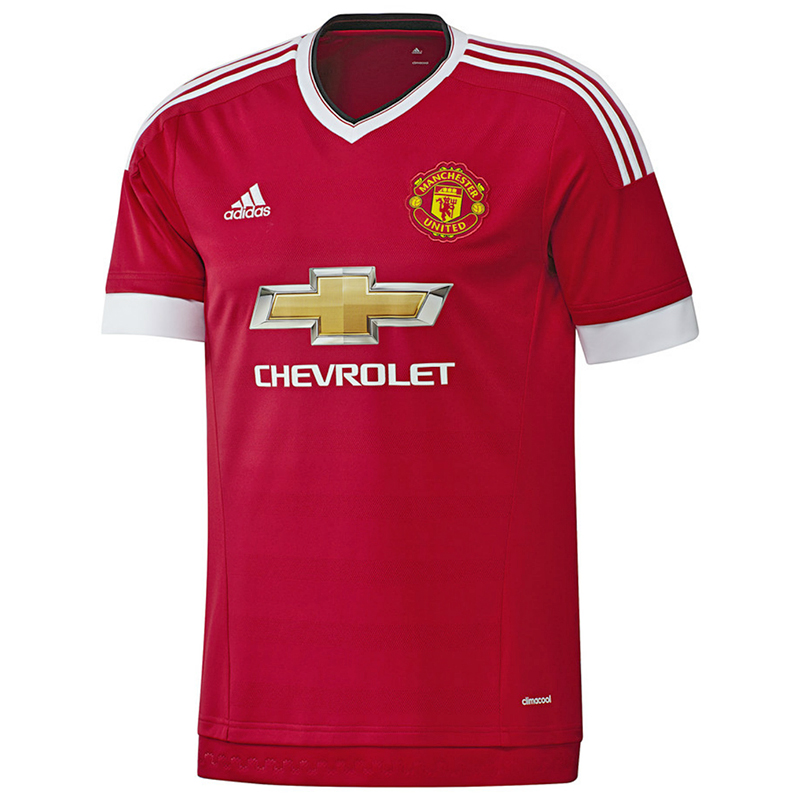 finest selection 5bbb5 44e22 Man United's new Adidas home kit in all its glory (Pictures ...