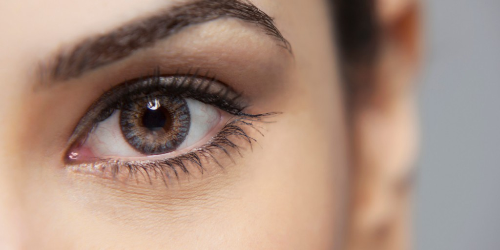 Close-up of a beautiful woman's eye