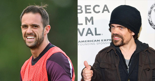 Does Ings bear more than a passing resemblance to award-winning actor Peter Dinklage? We think they make have a point.