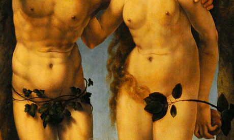 Adam and Eve painting detail