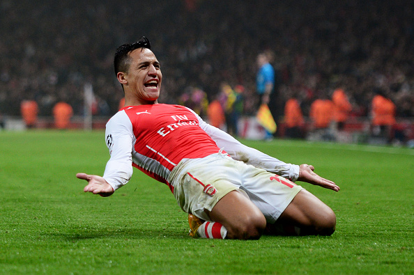 Alexis Sanchez Is Considering Getting A Special Tattoo If Arsenal Win The League Sportsjoe Ie