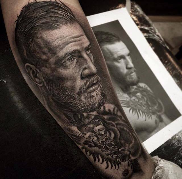 conor mcgregor fan shows his dedication with amazingly detailed