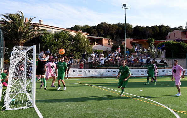 PORTO CERVO, ITALY - JUNE 23: A general view during the Porto Cervo Summer 2015 - Five-a-side Football Tournament Day One on June 23, 2015 in Porto Cervo, Italy. (Photo by Claudio Villa/Getty Images)