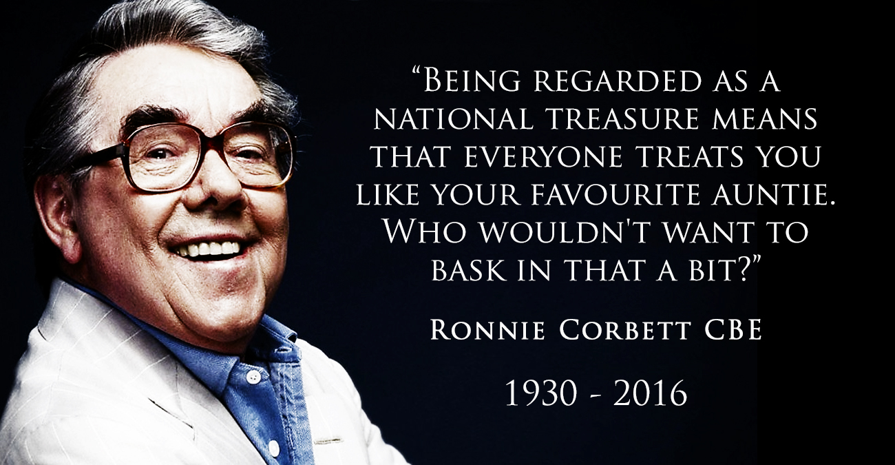 Ronnie Corbett Tribute