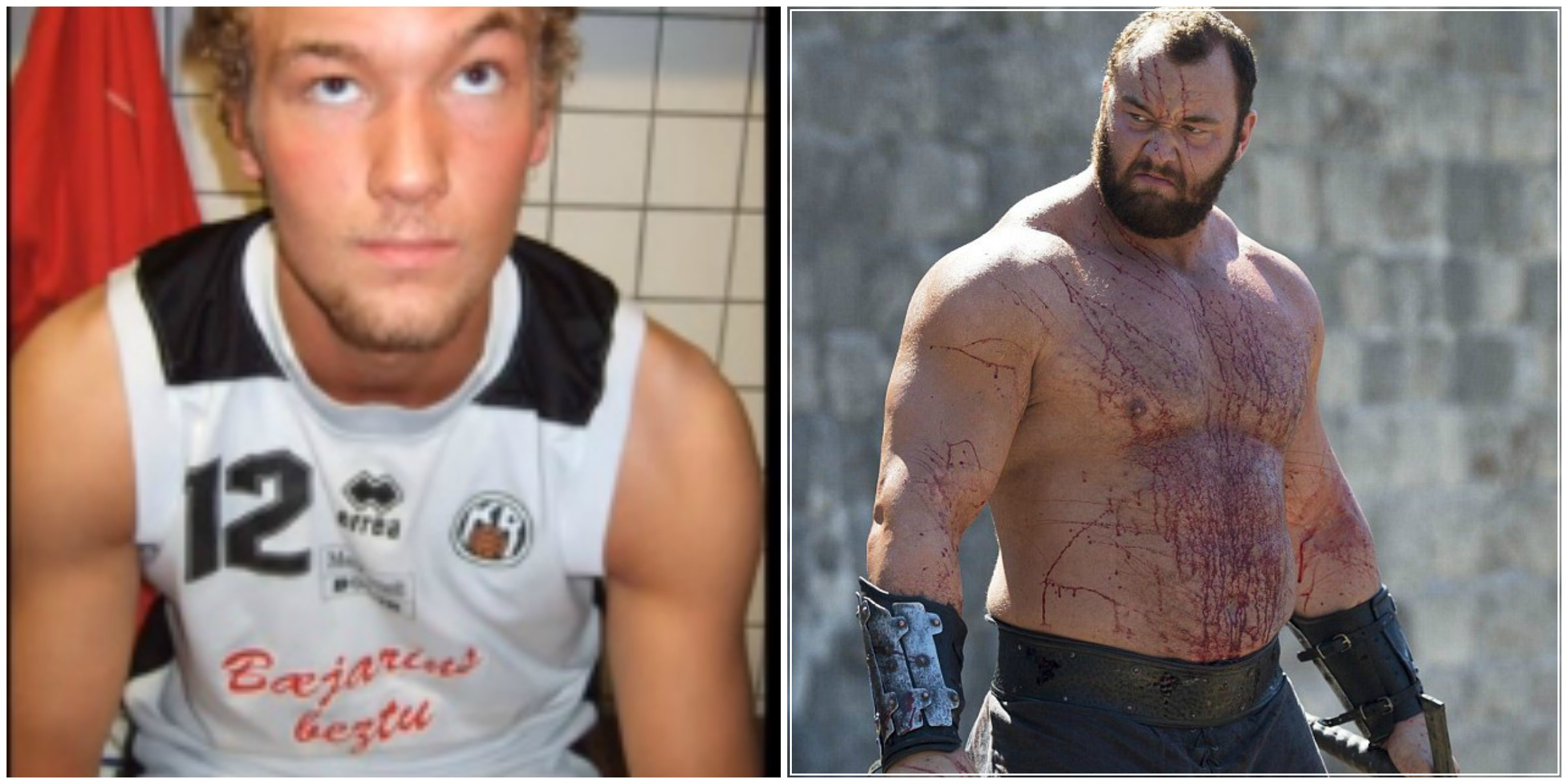 The Mountain from Game Of Thrones has revealed his HUGE