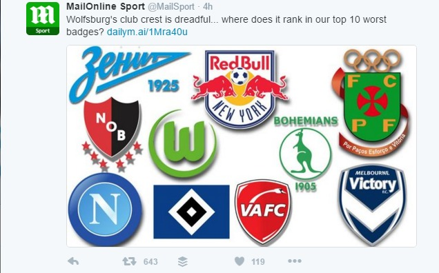 Zenit St Petersburg Have Destroyed The Daily Mail For Disrespecting Their Club Badge Sportsjoe Ie