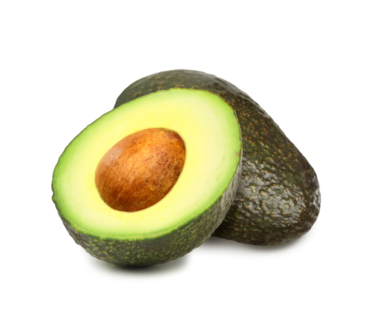 Avocados with pit. The file includes a excellent clipping path, so it's easy to work with these professionally retouched high quality image. Thank you for checking it out!