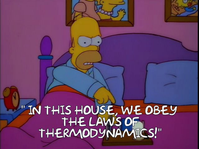 obey the laws of thermodynamics