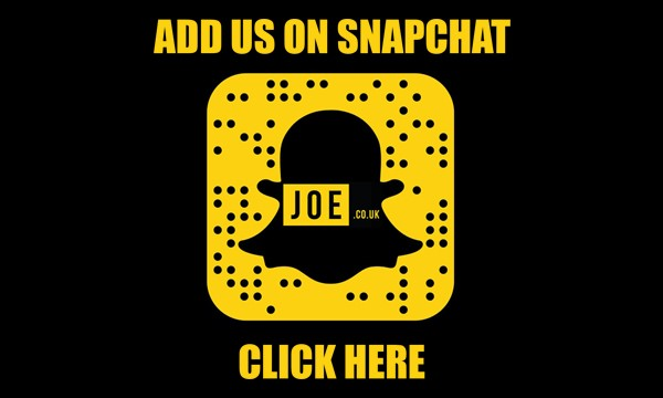 Joe.co.uk Snapchat