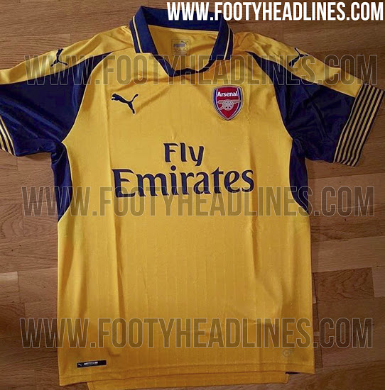 buy online 93411 4a170 Arsenal's leaked away kit is a throwback to a happier time ...