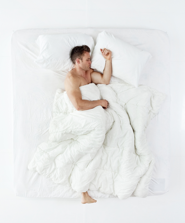 Above view of man sleepinghttp://www.twodozendesign.info/i/1.png