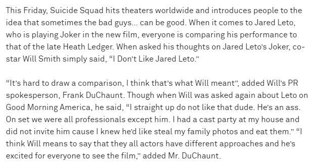 Heres The Truth About Those Will Smith Quotes About Jared Leto