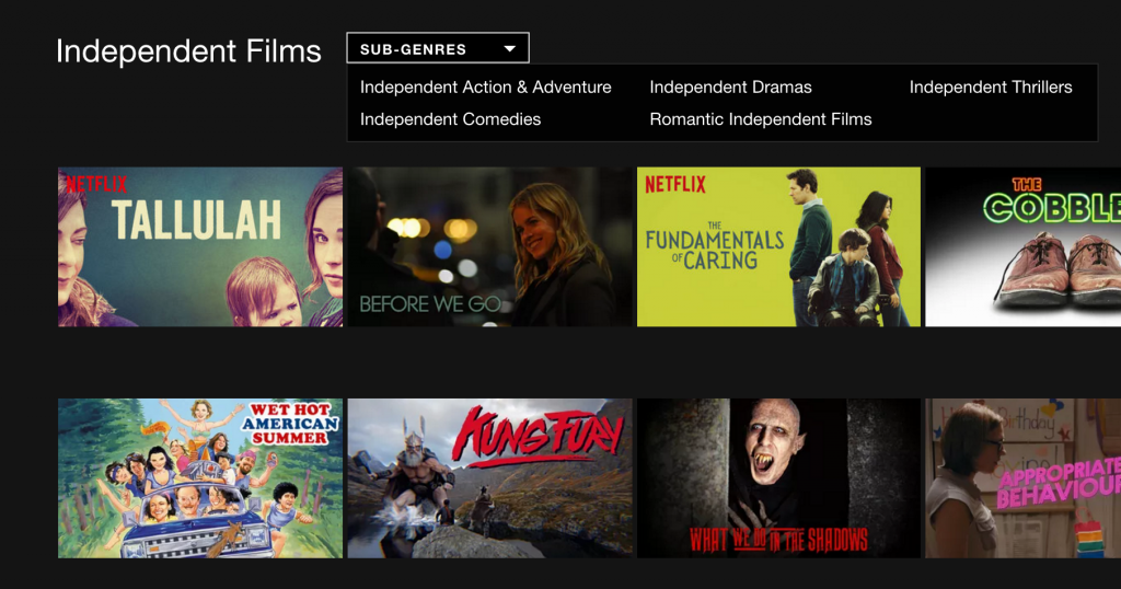 Here's how you can access the 'secret' categories on Netflix