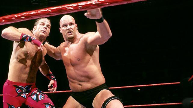 Stone Cold vs. Shawn Michaels