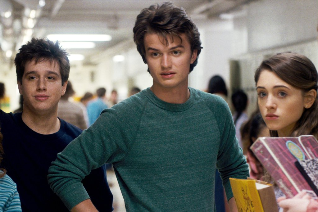Who is nancy from stranger things dating in real life