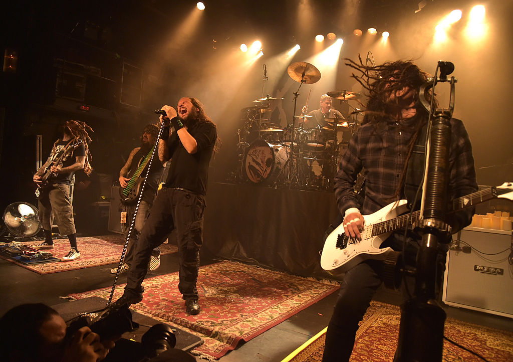 <> at Irving Plaza on October 5, 2015 in New York City.