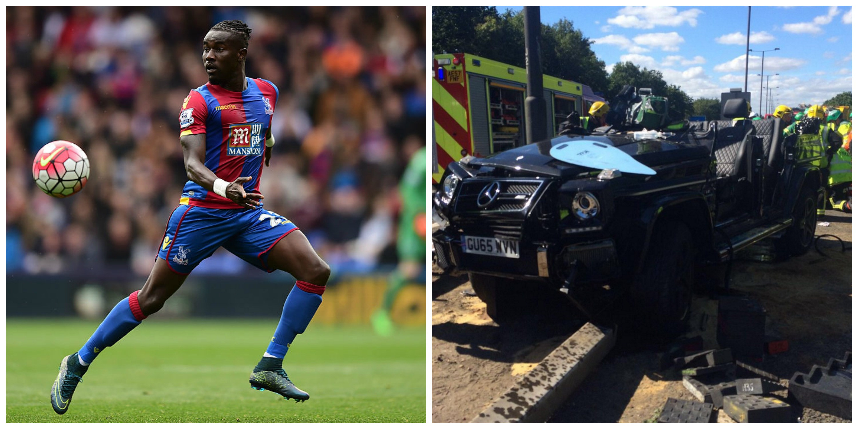 Palace defender Souare fears for career after horror crash
