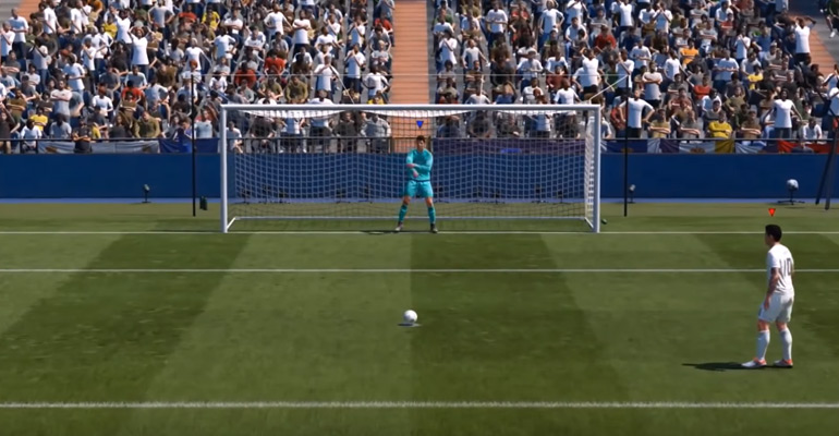 While not the only mobile game that delivers online penalty kick battles,  Soccer Showdown 2015 (free for iOS) proves a particularly addictive  experience.