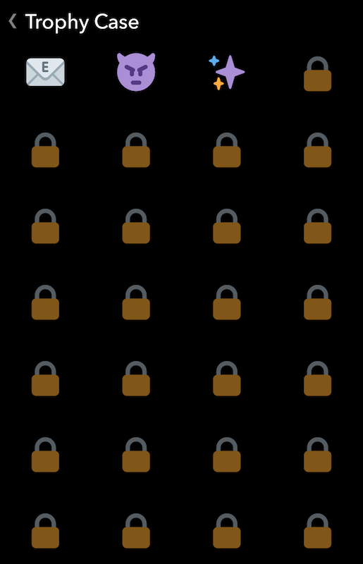 Heres how you can unlock every trophy in snapchat joe snapchat trophy case ccuart Image collections