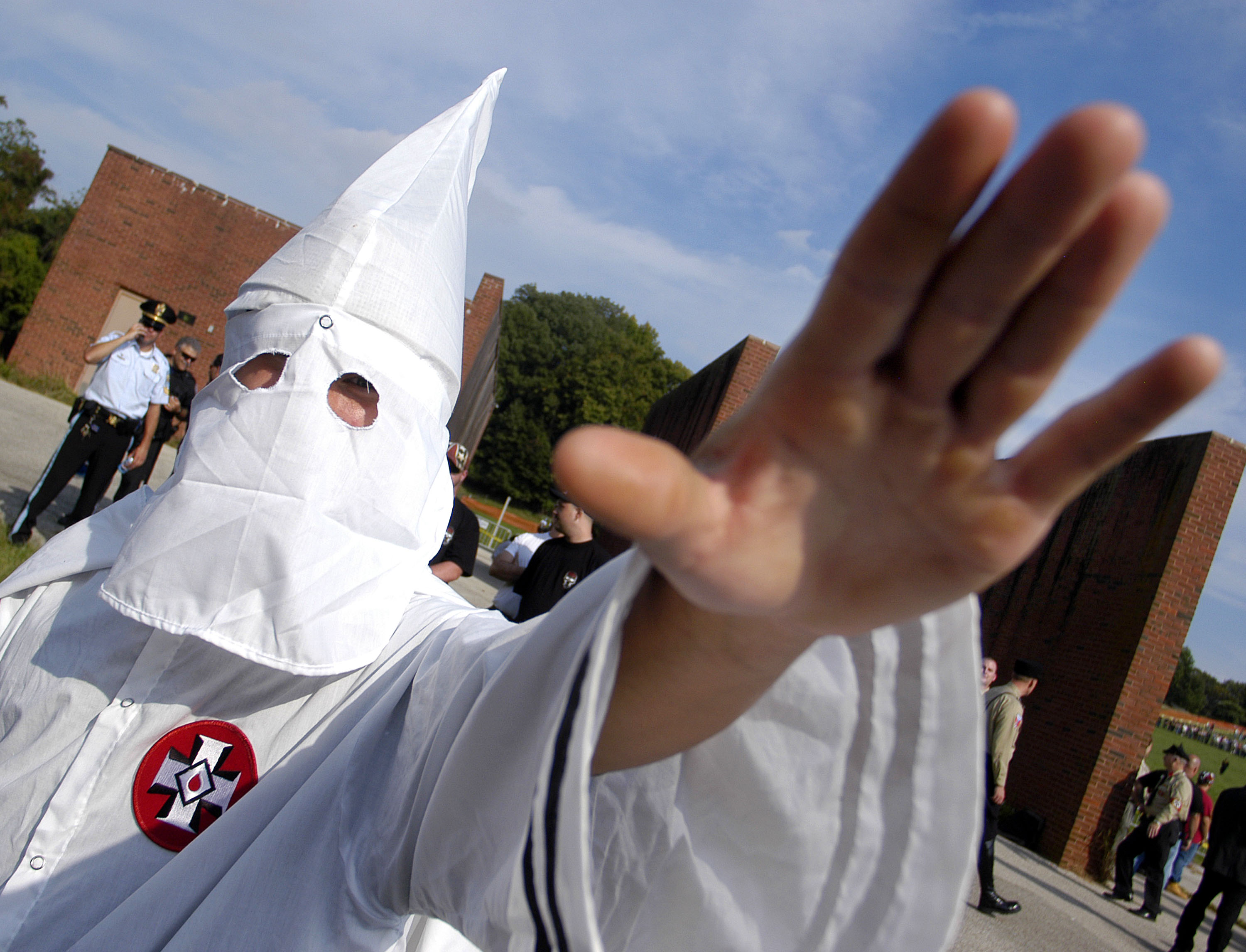 American Nazi Party Holds Rally At Valley Forge