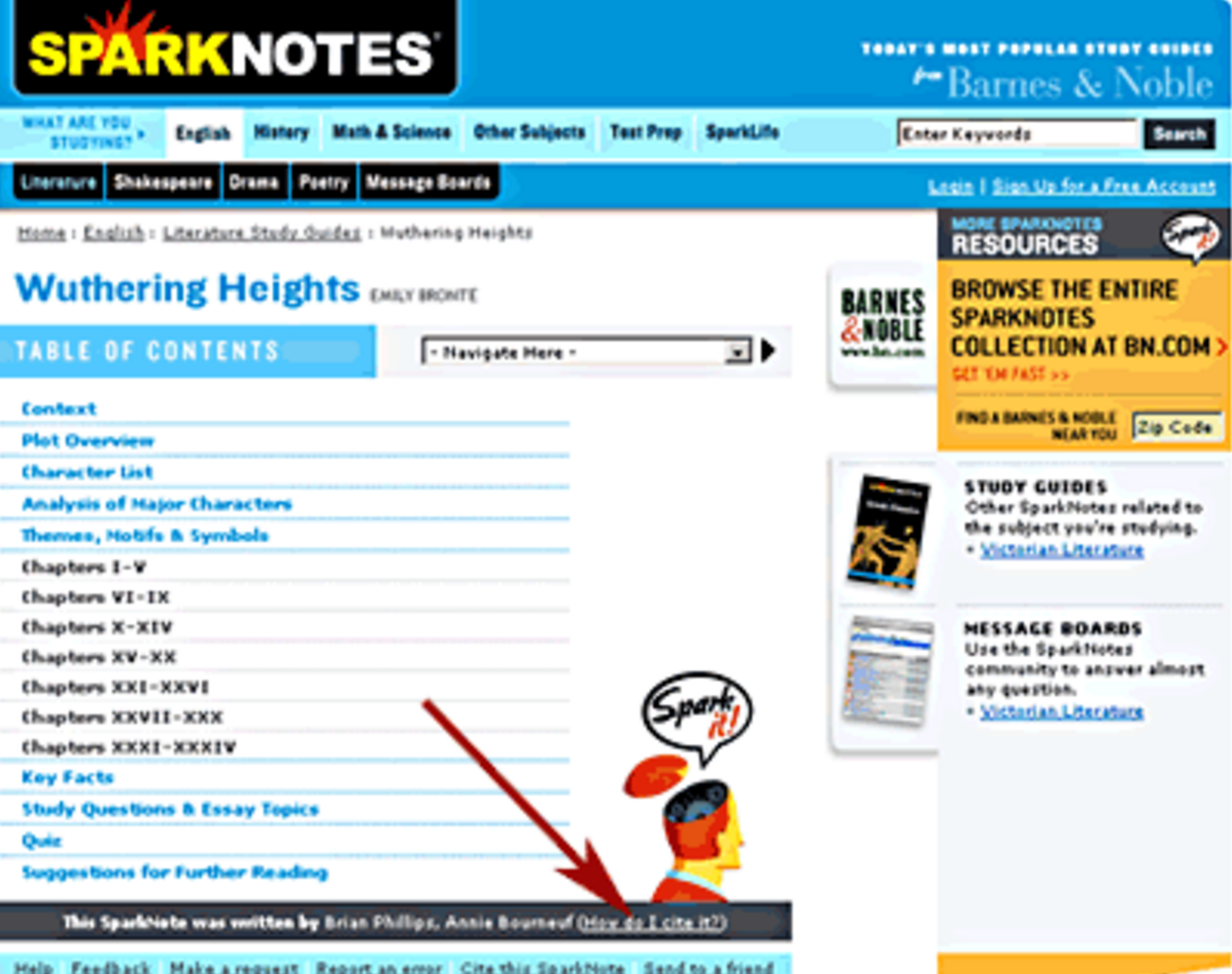 sparknotes essays in idleness