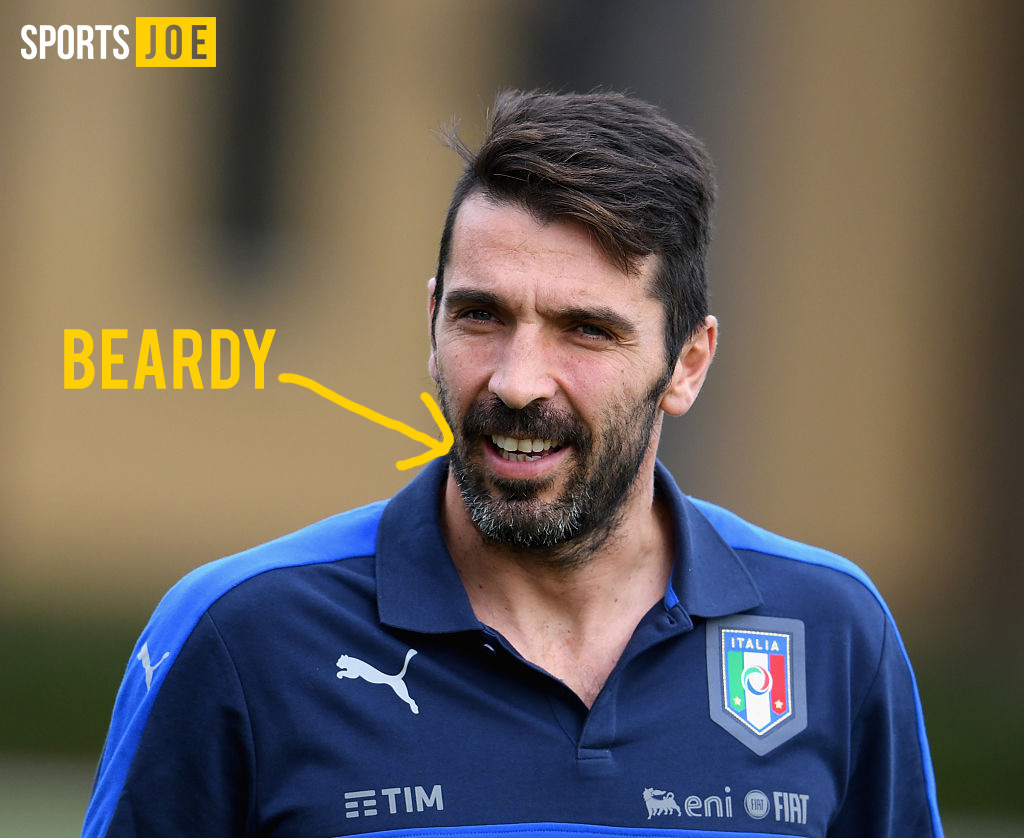 Great news if you ve lost sleep wondering what Gigi Buffon would