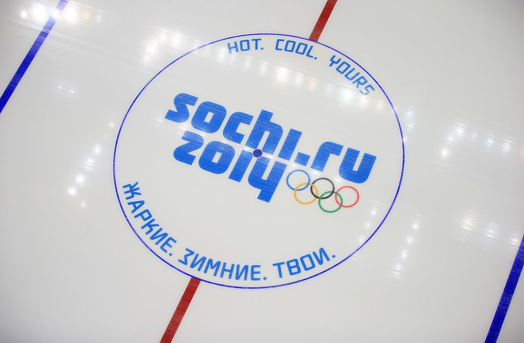 SOCHI, RUSSIA - JANUARY 25: A view inside the Bolshoy Ice Dome where the Ice Hockey will take place in the Sochi 2014 Winter Olympic Park in the Costal Cluster on January 25, 2014 in Sochi, Russia. (Photo by Richard Heathcote/Getty Images)