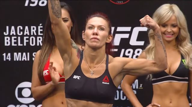 Cris Cyborg and Angela Magana Get Into a Fight
