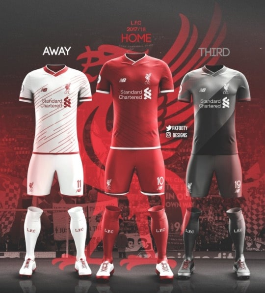 on sale cdda2 9d304 Leaked Liverpool kits for next season look very classy ...