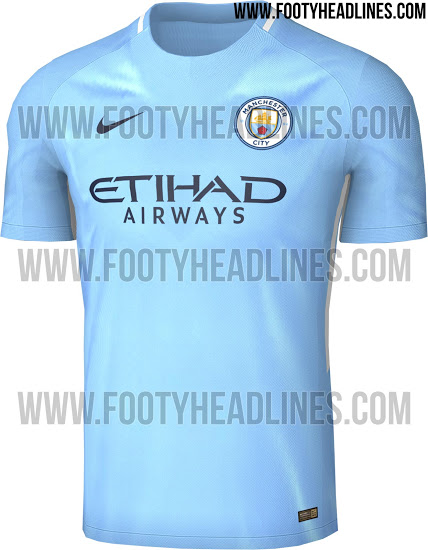pretty nice 1a98b 2e163 This retro looking Manchester City home shirt is sure to get ...