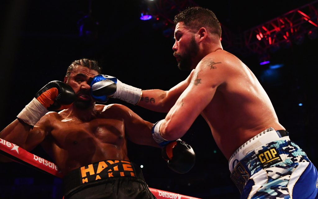 Haye in talks over fighting UFC star Manuwa