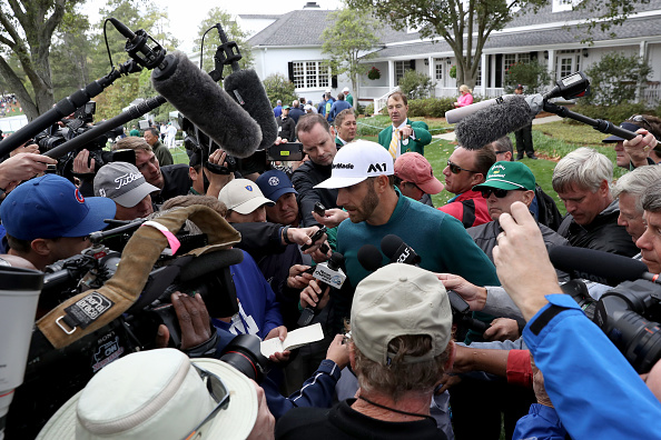 Dustin Johnson out of Masters, Charley Hoffman soaring