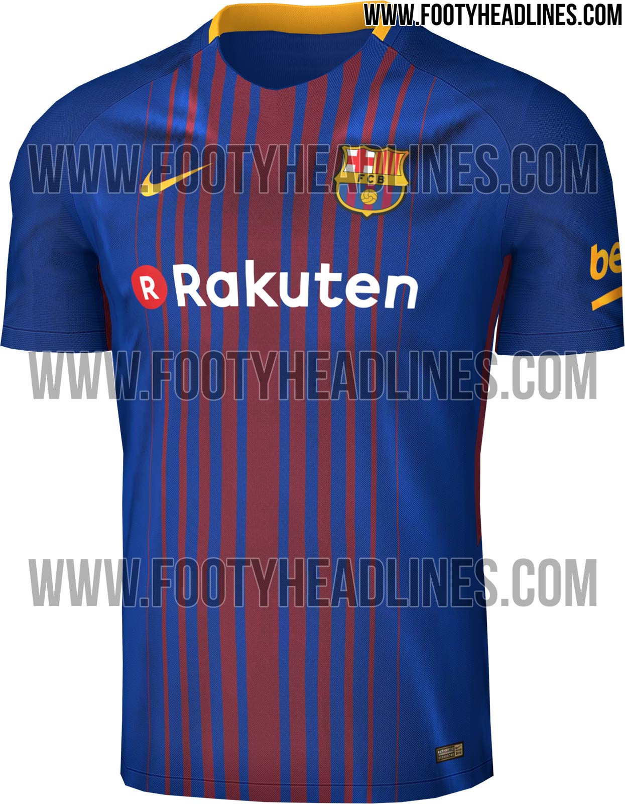 da29aecb19e It was also feature a new sponsor. Japanese online firm Rakuten will pay  the club £47m a year for the next four years