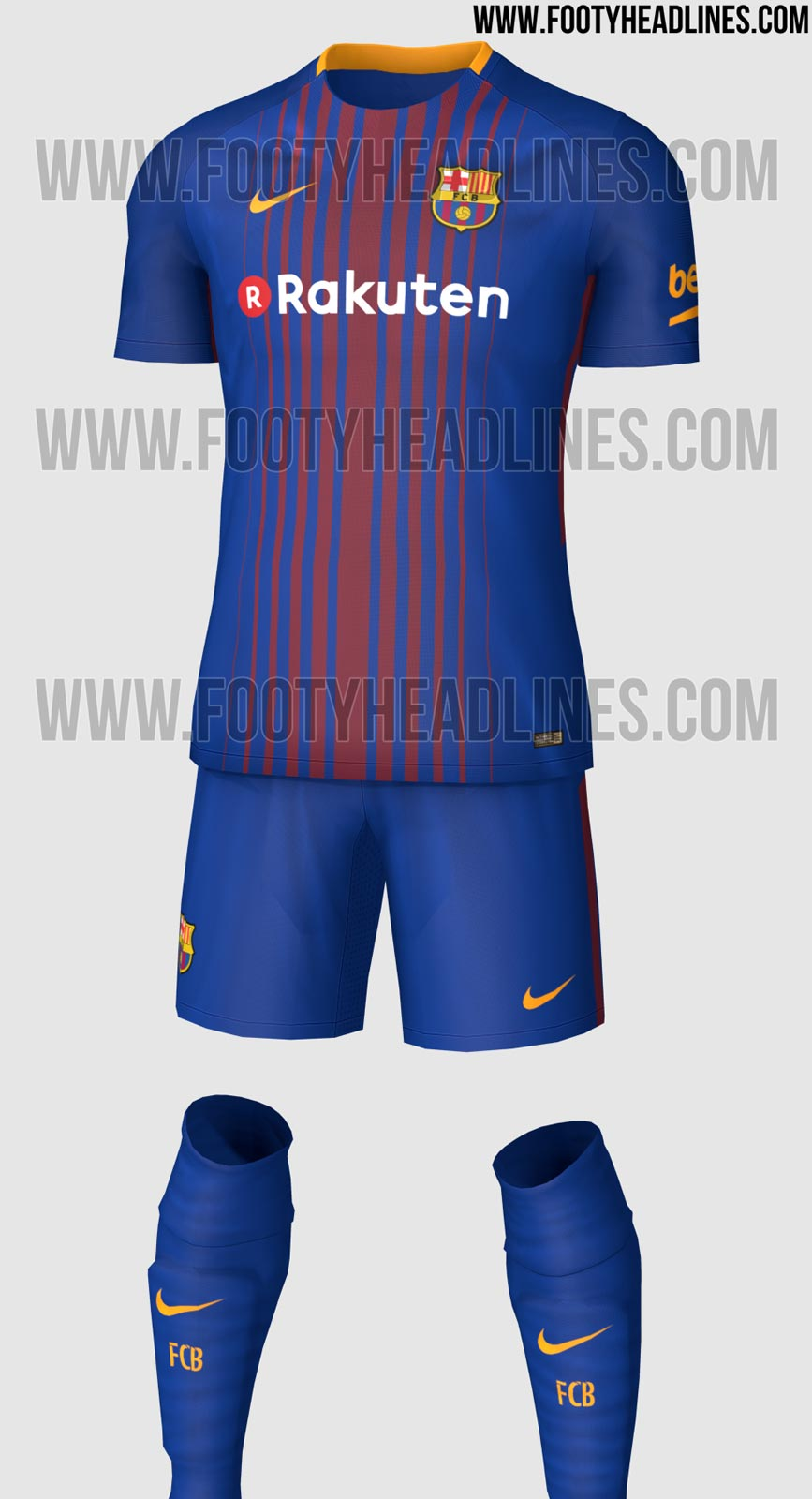 Barcelona 39 s new kit has leaked and it 39 s extremely blue - New home barcelona ...