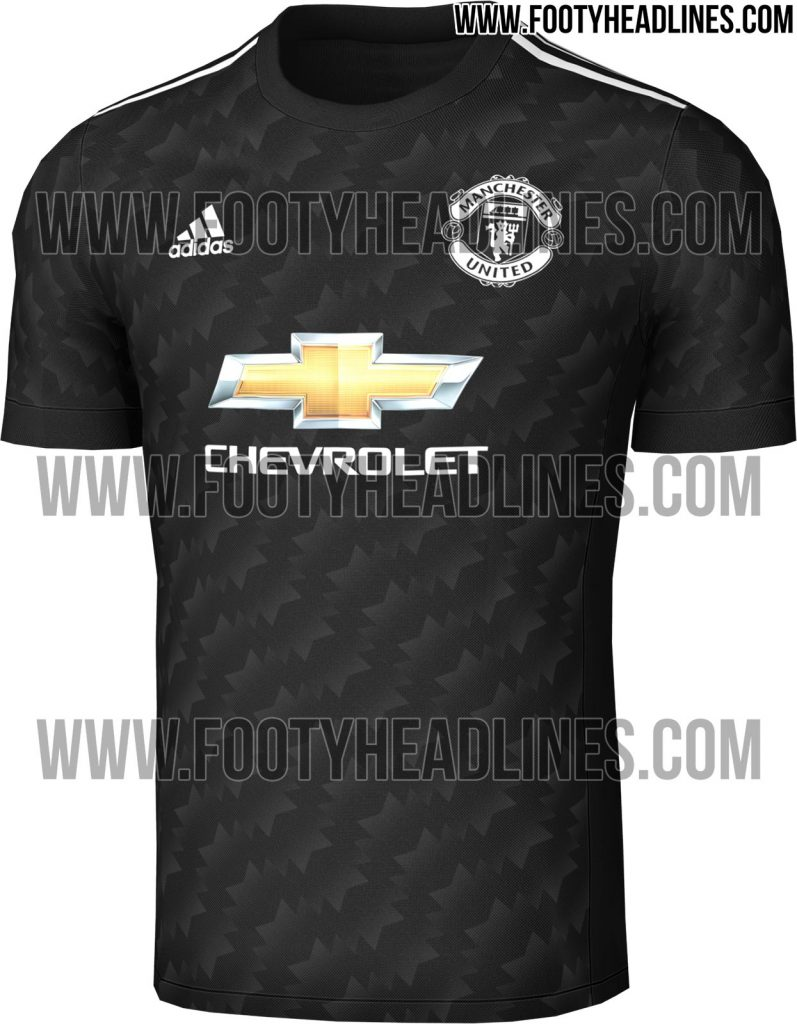 the latest c147f 66e22 Photos Of Manchester United's 2017/18 Kit Have Been Leaked