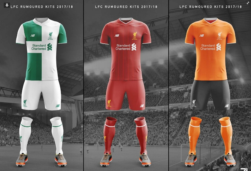 low priced 87feb 4433f New images show all three of Liverpool's rumoured kits for ...