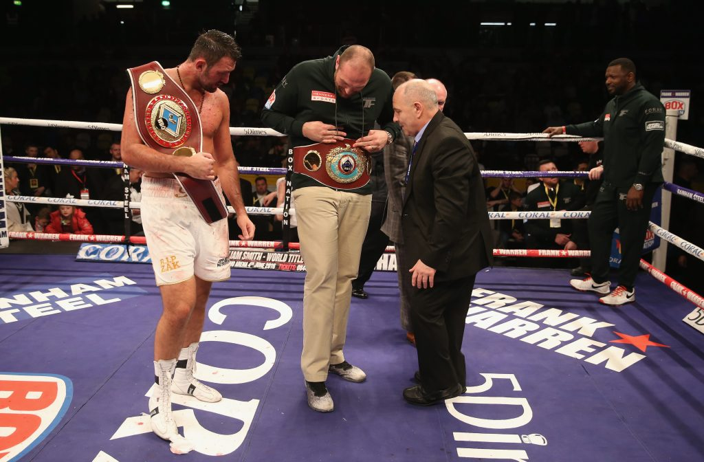 Injury costs Fury title fight