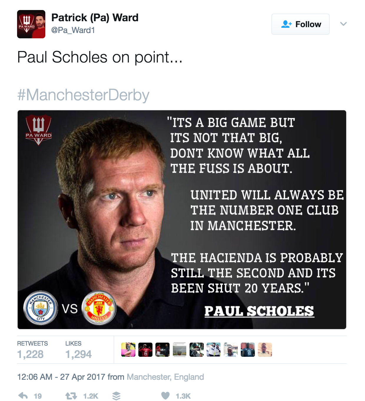 Yet again, thousands are being duped by *that* fake Paul Scholes