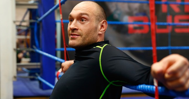 It seems like a date has been picked for Tyson Fury vs