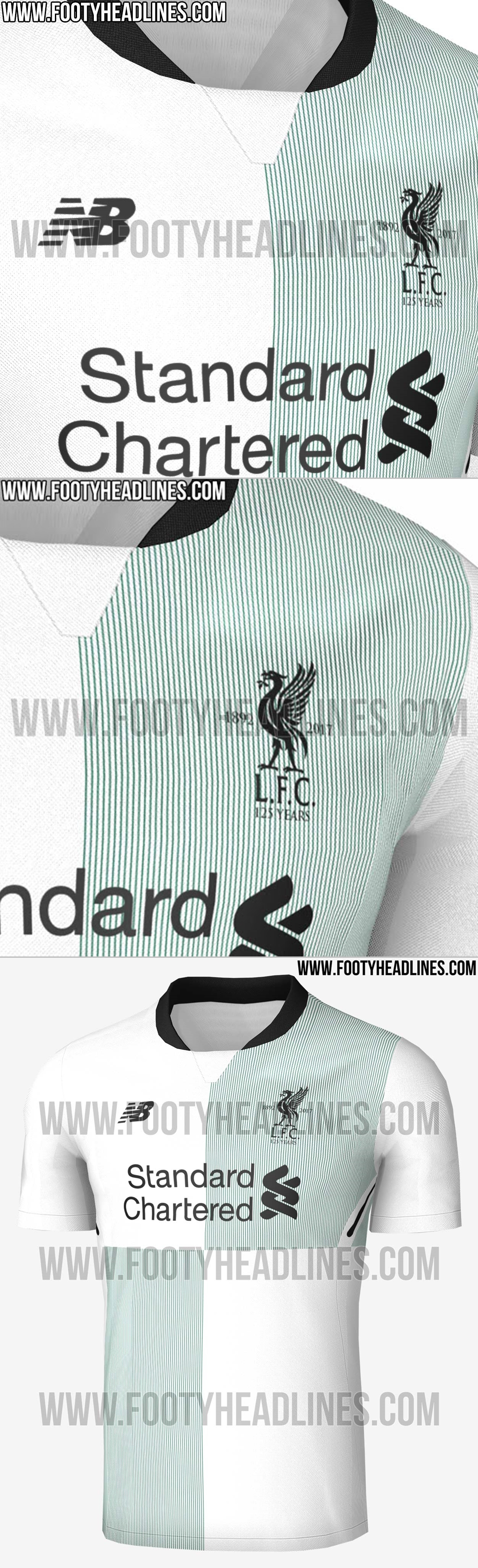 baa453e2dbf PICS  Liverpool s leaked third choice kit will split fans down the ...