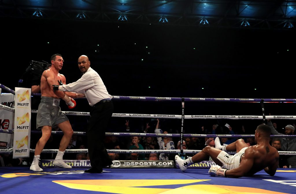 Anthony Joshua keen to take on `real villain` Tyson Fury