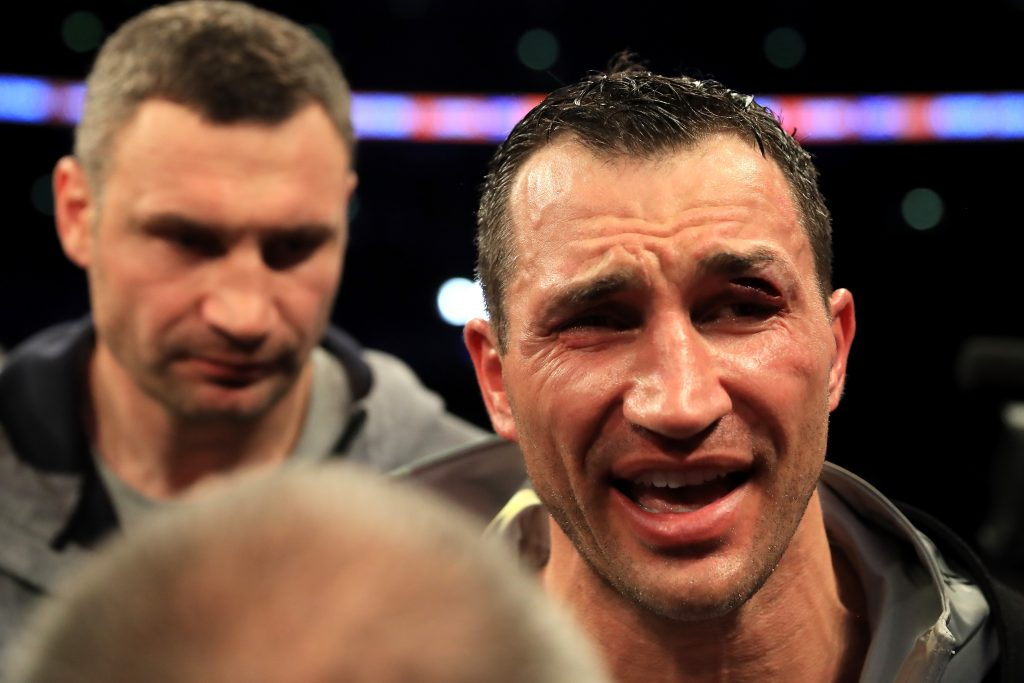 Klitschko will return only to fight with Joshua