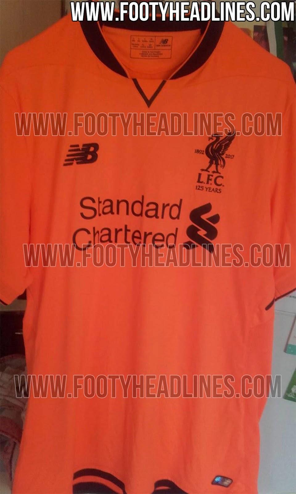 the latest 248c1 48cab PICS: Liverpool's leaked third choice kit will split fans ...