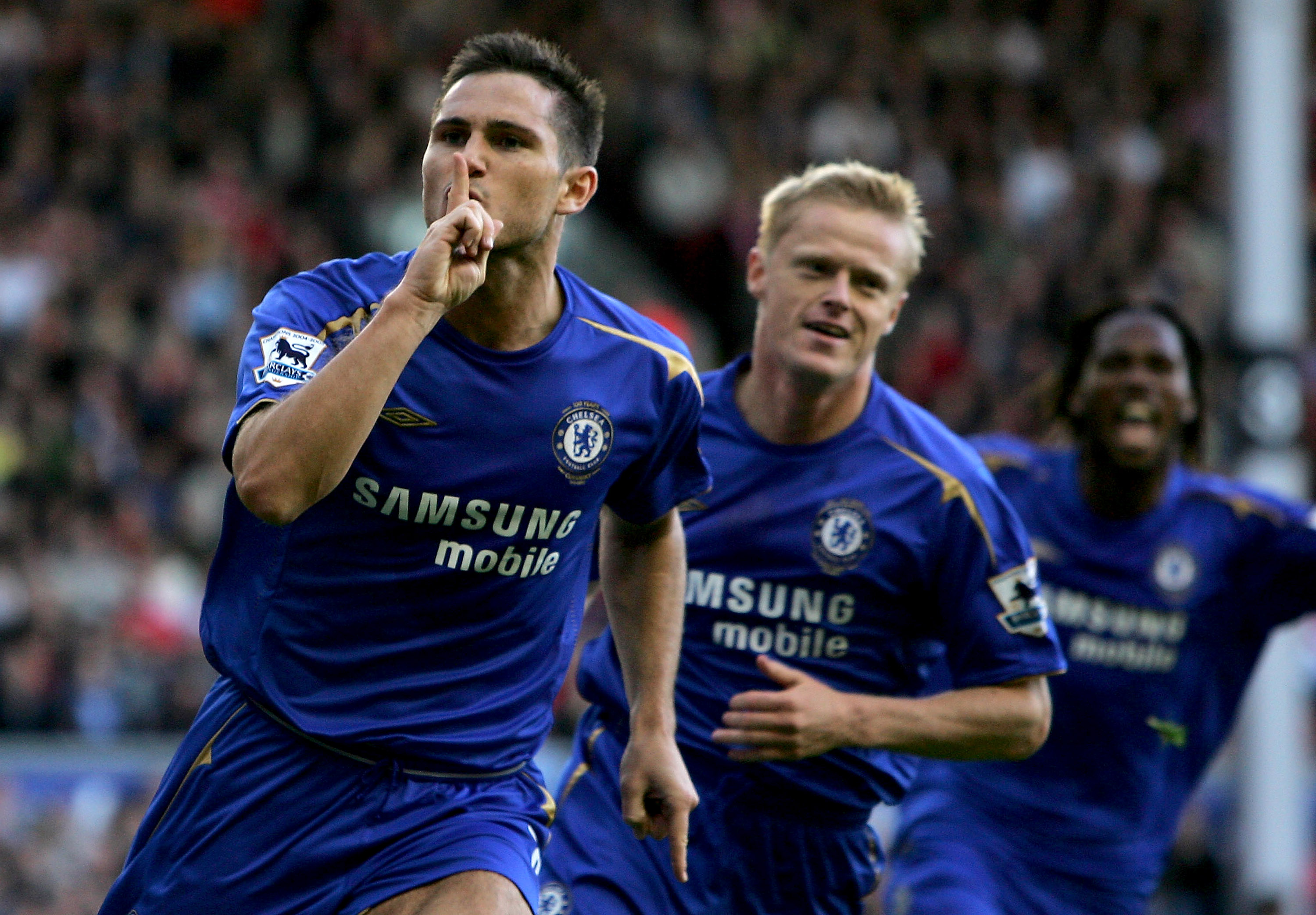 Frank Lampard has picked a bined XI from Chelsea s best team