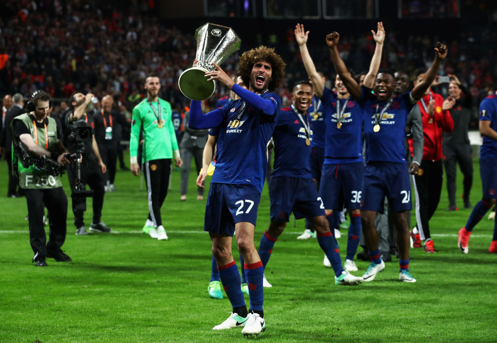 Man Utd's Marouane Fellaini refuses to rule out China move