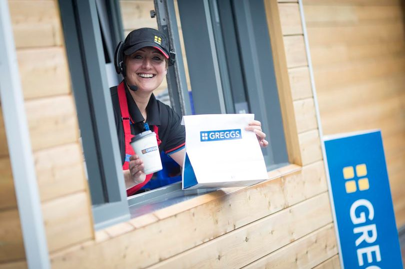 Good news because Greggs are testing out home deliveries in the UK